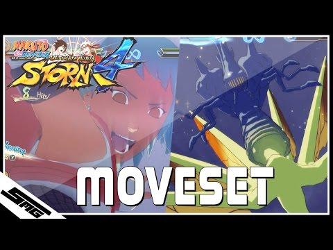 Naruto Ultimate Ninja Storm 4 - Fuu COMPLETE Moveset