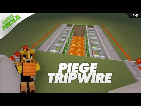 Minecraft XBOX/PS3 : TUTO FACILE #4 - PIÈGE TRIPWIRE !  FR