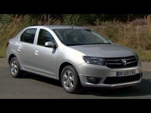 Тест-драйв Dacia Logan - Renault Logan 2013