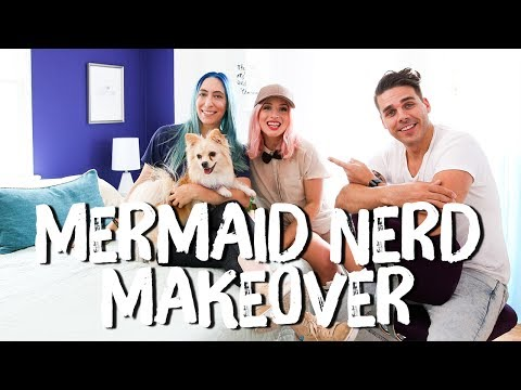 Blue and Purple Bedroom Makeover | Breaking Beige | Mr. Kate