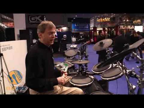 Yamaha DTXtreme III Special Electronic Drum Kit Demo'd At Winter NAMM 2009