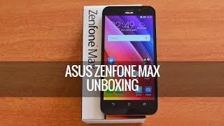 ASUS Zenfone Max (ZC550KL) Unboxing