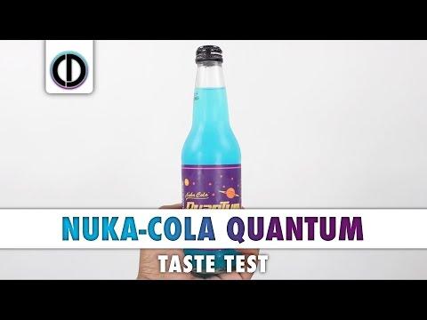 Fallout 4 Nuka-Cola Quantum (Taste Test)