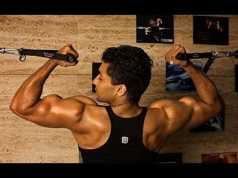 Tamil Actor Suriya Body Building Pics