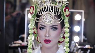 Tutorial Make Up Pengantin Cirebon Kebesaran Komersil AR'Q by Arief Rachmanto Part 3