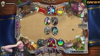 Day 9 plays Hearthstone, but everytime he laughs it goes faster