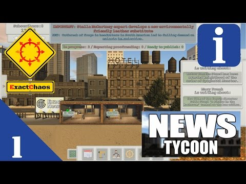 News Tycoon - First Look #1/3