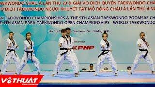 Màn trình diễn đẳng cấp của Đội võ nhạc Taekwondo Việt Nam
