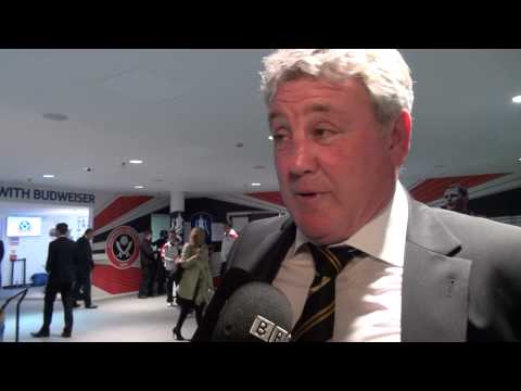 Hull City v Sheffield United | FA Cup With Budweiser Semi-Final | Reaction With Steve Bruce