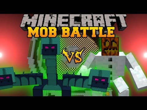 Hydra Vs. Mutant Snow Golem - Minecraft Mob Battles - Twilight Forest and Mutant Creatures Mods