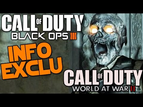 BLACK OPS 3 vs World At War 2 ! INFORMATION, ZOMBIE... [COD 2015]