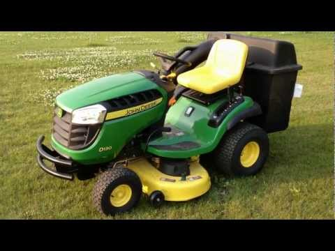 2012 D130 John Deere Mower Walkaround