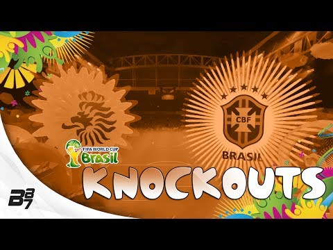 FIFA World Cup Brazil 2014 | Knockouts! Netherlands vs Brazil