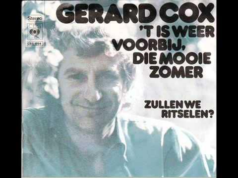 YouTube          Gerard Cox   't Is Weer Voorbij Die Mooie Zomer 1973