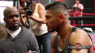 Abner Mares on Mayweather-Berto, Leo Santa Cruz & fans saying hes not the same fighter anymore