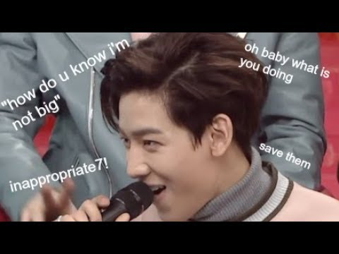 [GOT7] saying and doing less than appropriate things