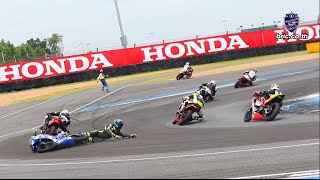 Highlight  |  BRIC SBK 2016_ RACE 1- Honda CBR 300R Thailand Dream Cup