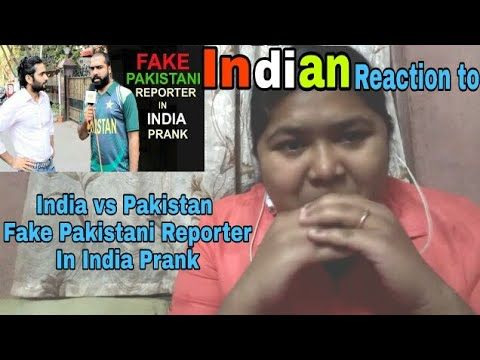 Indian Reacts To India vs Pakistan - Fake Pakistani Reporter In India Prank | Reaction RD