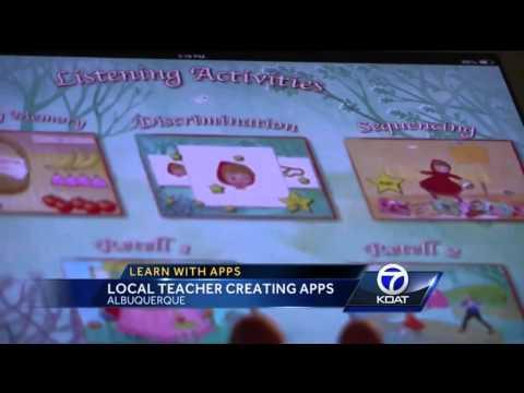 Albuquerque teacher develops speech app