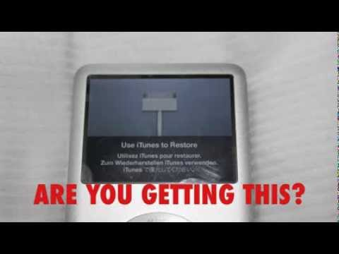 iPOD CLASSIC HOW TO RESTORE