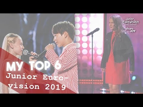 Junior Eurovision 2019 - My Top 6 w/ Rating & Comments +