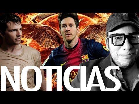 News.- Sinsajo,Tom Cruise en StarWars,Messi, PacifiRim2 y más