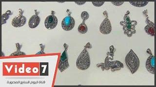 بالفيديو.. شاهد أحدث تصميمات « انسيالات » الفضة التركى لعام 2014