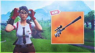 New Silenced Sniper Gameplay!