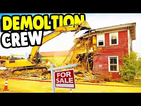 My Home DEMOLITION Crew & Home RESTORATION | House Flipper Gameplay