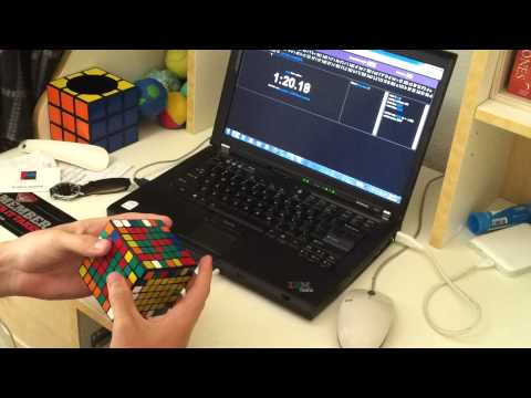 7x7 solved in 2:56.17