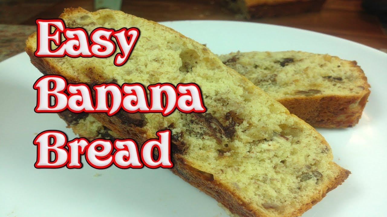 Easy Banana Bread - YouTube