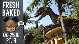 Jurassic Park - The single best ride at Universal Studios | 6-25-16 Pt. 9