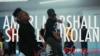 AMARI MARSHALL & SHAY LATUKOLAN | WIZKID  FAKE LOVE FT  DUNCAN MIGHTY