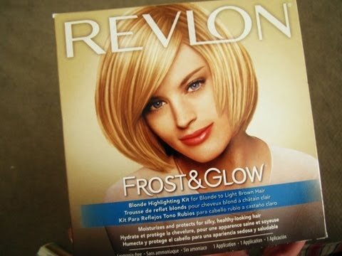 Highlights at Home for only $10 ! Using Revlon Frost and Glow