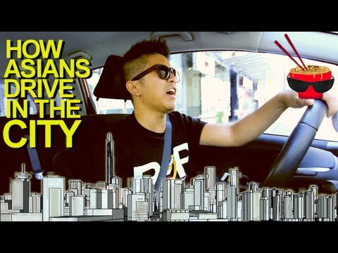 How Asians Drive in the City