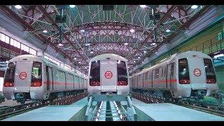 Delhi Metro train HLB