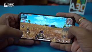 Samsung Galaxy A30 Gaming Review, PUBG Mobile Gameplay Performance, Heating Test