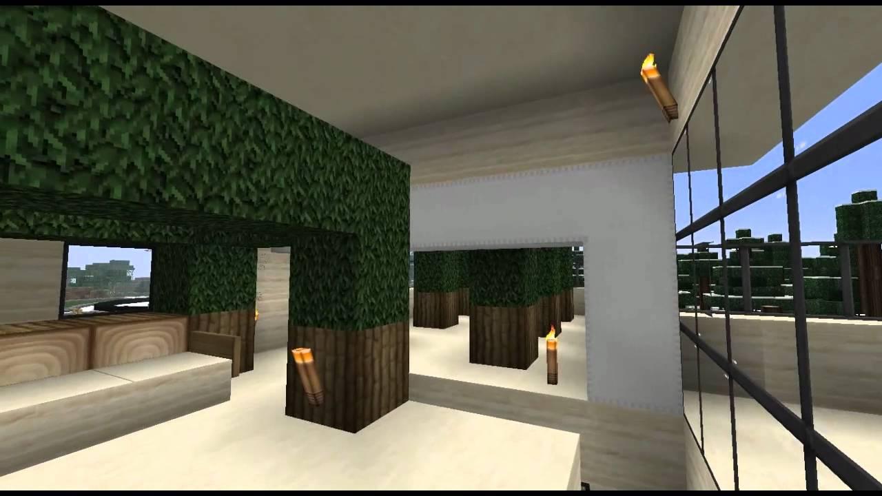 Minecraft casa de dise o design house n 3 youtube - Casa de diseno de interiores ...