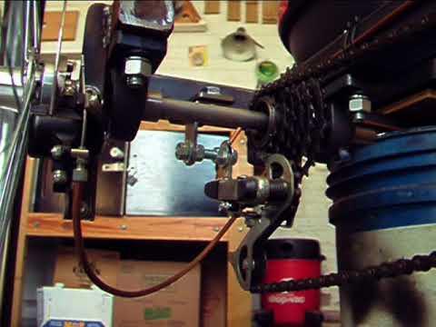 CUADRICICLO A PEDAL 04 - Mecanismo de transmisión