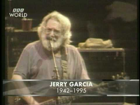 Jerry Garcia on the news - August 9, 1995 (pt.1)