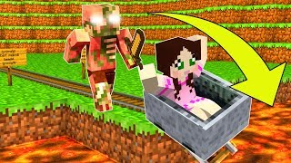 Minecraft: NEVER PUNCH PIGMEN!!! - PIGMAN HIDDEN TREASURE - Custom Map