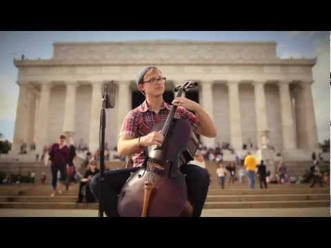 "Ben Sollee - ""A Few Honest Words"" at the Lincoln Memorial"