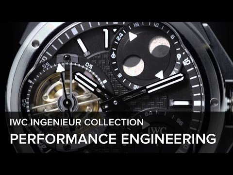 IWC Schaffhausen Ingenieur Collection 2013 – Performance Engineering