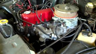 Jeep engine running before swap