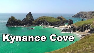 Kynance Cove in Cornwall England on A Perfect Day