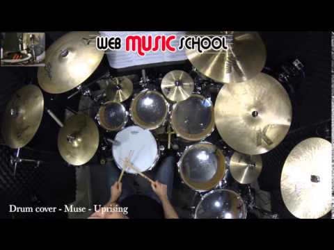 Muse – Uprising – DRUM COVER