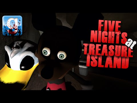 Gmod Five Nights At Treasure Island #2 (garry's Mod Horror Map W  Friends) video