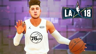NBA 2k18 My Career - Drafted to Team LeBron! All-Star Weekend Ep.20