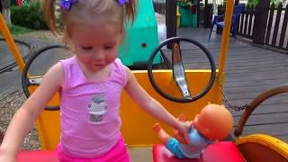 Беби Бон Кукла и Парк развлечений. ВЛОГ Развлечение для детей. Видео для детей Fun for the kids