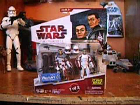 Star Wars Lt. Thire & Clone Trooper Rys (The Clone Wars) Review